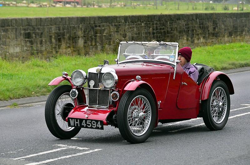WH 4594 MG J2 MIDGET 1933