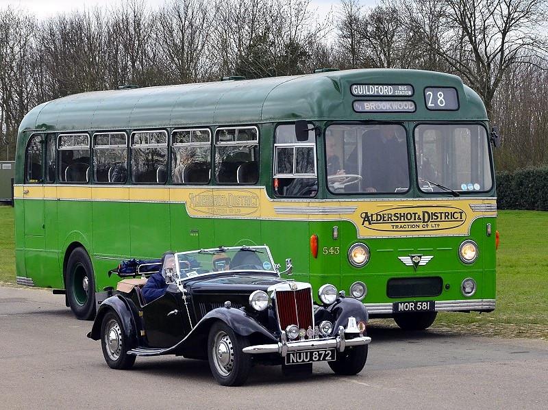 NUU 872 MG TD SPORT 1953