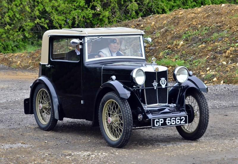 GP 6662 MG SPORTSMANS COUPE  1931 847CC
