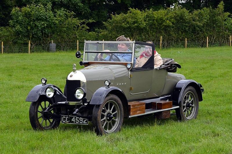 CC 4592 COWLEY BULLNOSE 1924