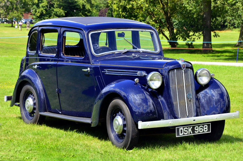 DSK 968 12-4 SERIES 3 SALOON 1939
