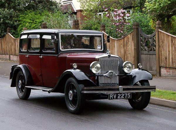 RV 2275 MORRIS OXFORD 1932