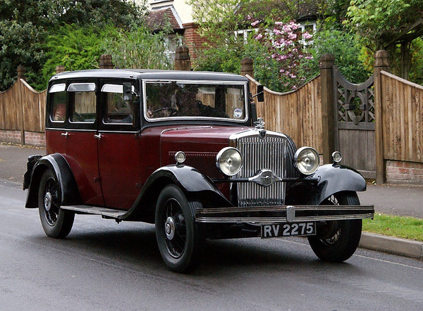 RV 2275 MORRIS OXFORD 1932