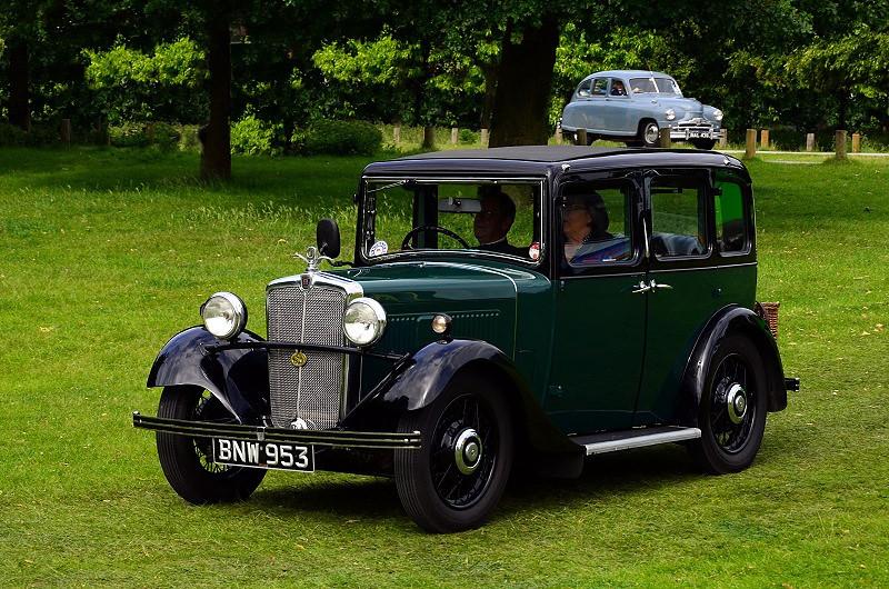 BNW 953 MORRIS TEN FOUR 1935