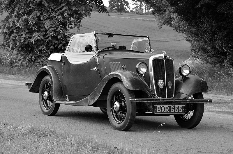 BXR 655 EIGHT TOURER, 1935 (2)