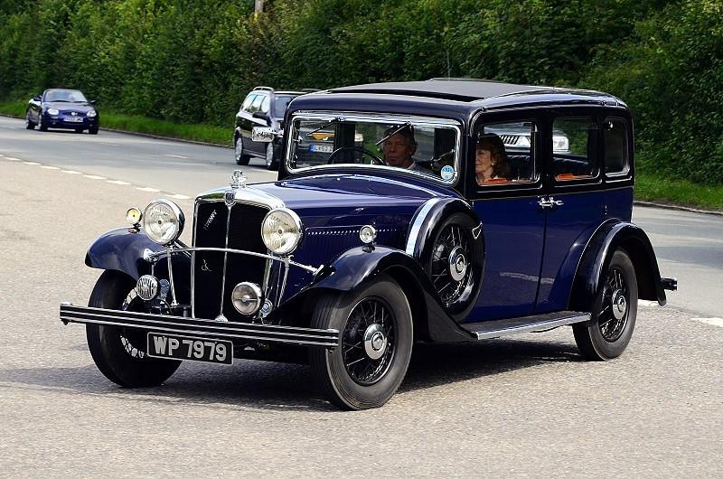 WP 7979 MORRIS TWENTY 1935