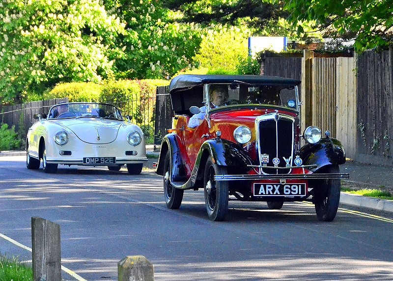 ARX 691 MRRIS 8 TOURER 1937