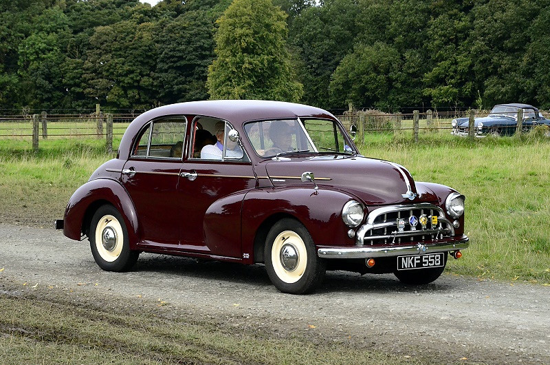 NKF 558 MORRIS OXFORD 1952
