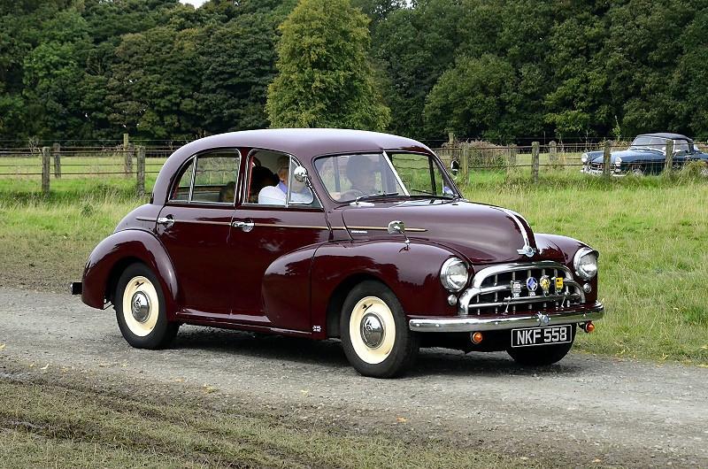 NKF 558 MORRIS OXFORD 1952