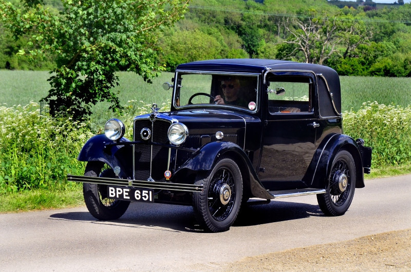BPE 651 MORRIS  TEN FOUR COUPE 1934
