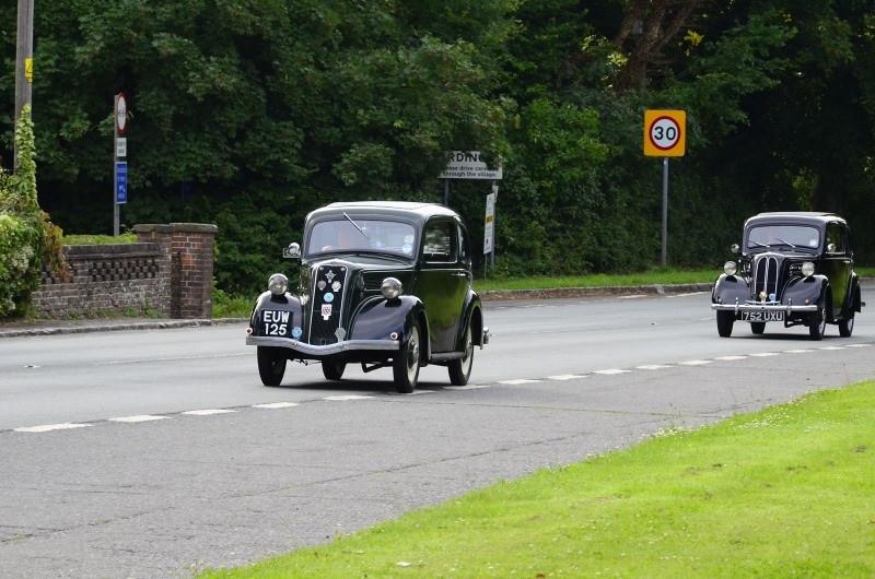 EUW 125 FOR 8 1938 & 752 UXU ANGLIA 1952