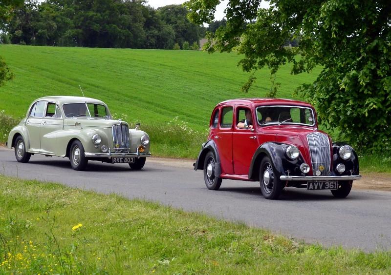 RKE 803 MORRIS SIX, AVV 361 MORRIS EIGHT 1938