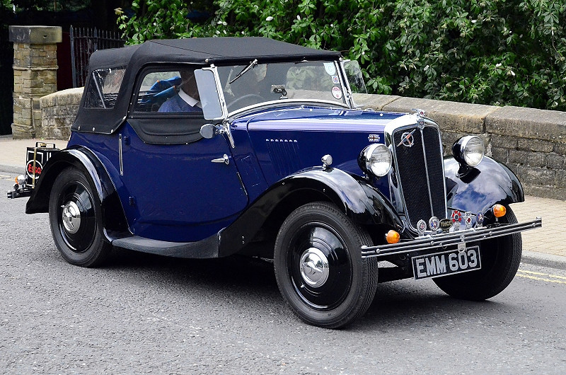 EMM 603 MORRIS 8 SERIES 1 TOURER 1937