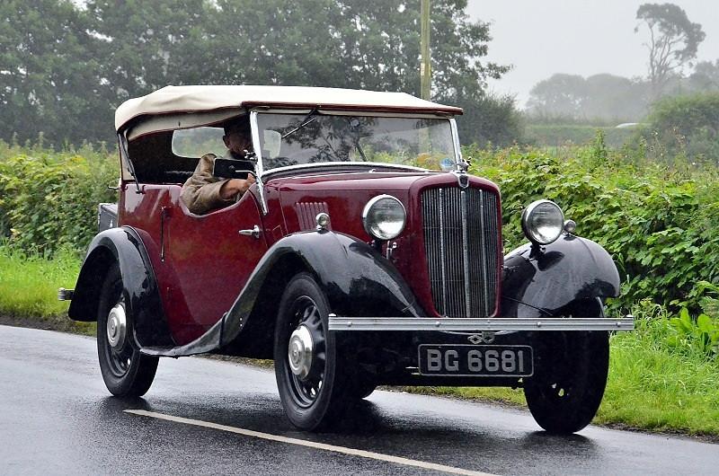 BG 6681 MORRIS 8 SERIES II CONVERTIBLE 1938