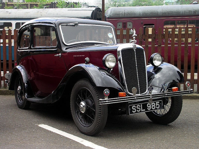 SSL 985 MORRIS EIGHT 1936
