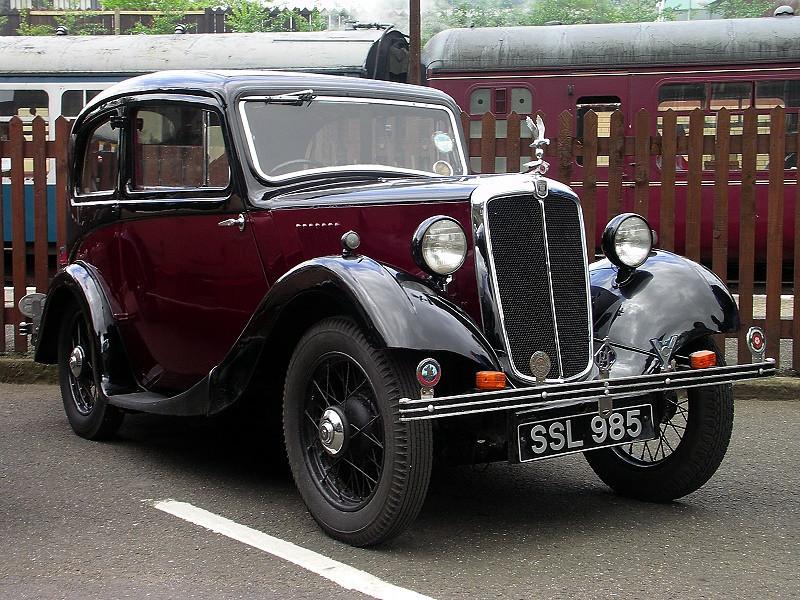 SSL 985 MORRIS EIGHT 1936