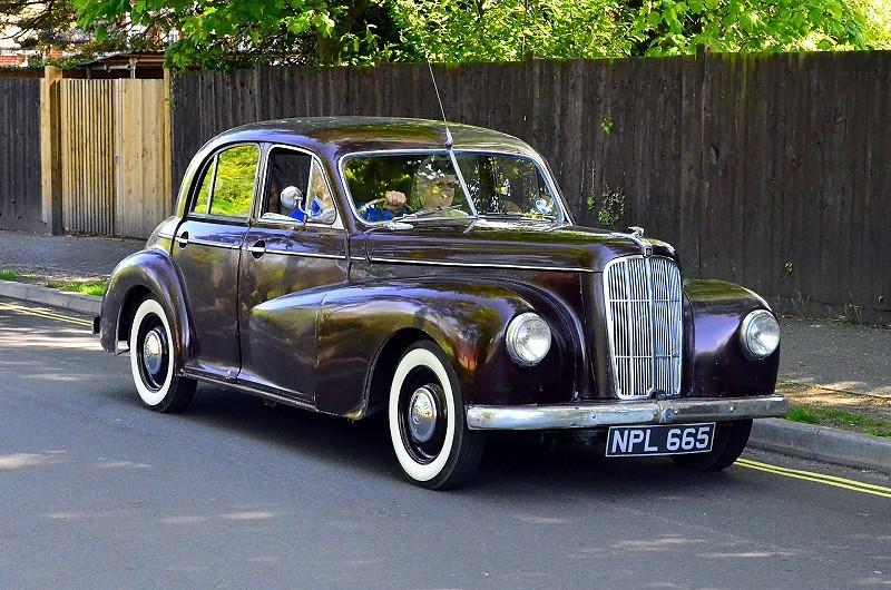 NPL 665 MORRIS SIX 1950