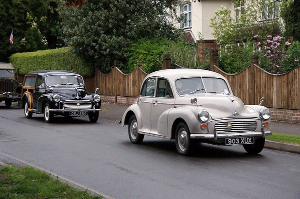 903 XUX SERIES 2 1956 & OSJ 680 TRAVELLER 1963