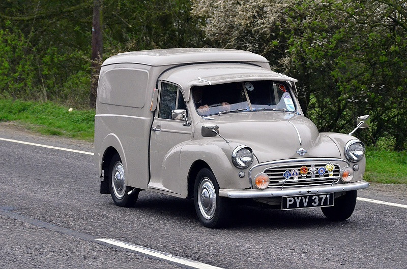PYV 371 MINOR SERIES 2 VAN 1955