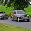 "MORRIS MINOR & AUSTIN MINOR THROUGH THE YEARS : The Morris Minor is a British economy car that debuted at the Earls Court Motor Show, London, on 20 September 1948.[4] Designed under the leadership of Alec Issigonis, more than 1.6 million were manufactured between 1948 and 1972. Initially available as a two-door saloon and tourer (convertible), the range was subsequently expanded to include a four-door saloon in 1950, and in 1952 a wood-framed estate (the Traveller), panel van and pick-up truck variants. The Minor was manufactured in three series: the MM (1948), the Series II (1952) and finally the 1000 series (1956). ""Badge"" engineering was rife back in the day , this album also includes the Austin Minor."