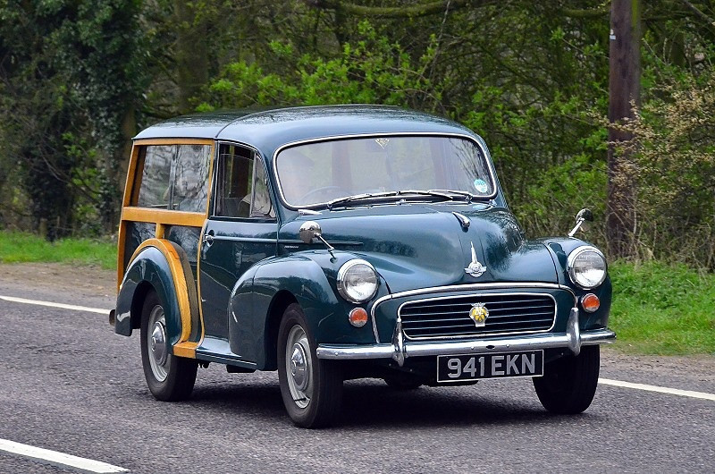 941 EKN MORRIS TRAVELLER 1958