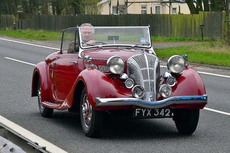 FYX 342 DOLOMITE ROADSTER 1940