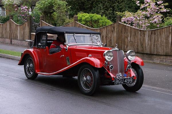 BGU 499 TRIUMPH GLORIA SOUTHERN CROSS 1934