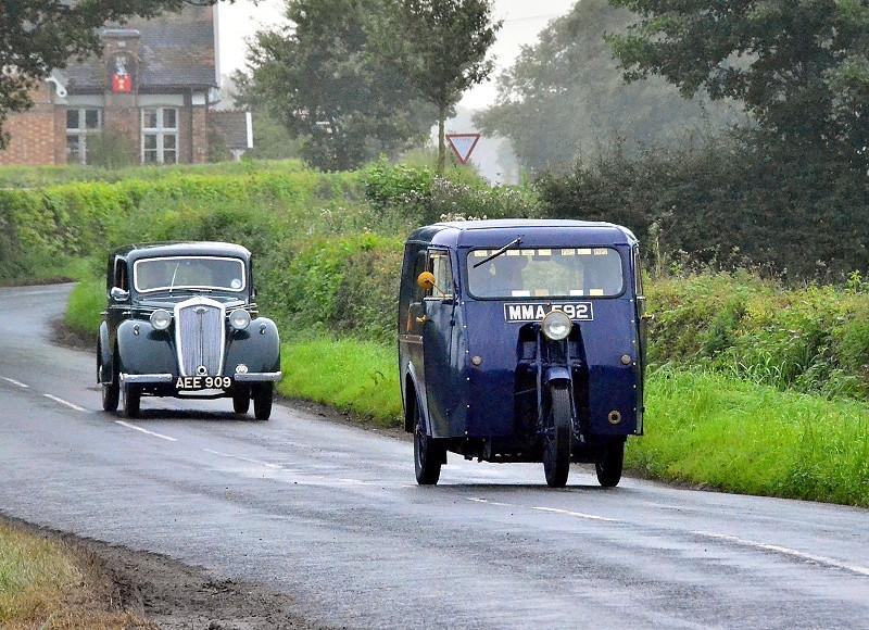 1950 RELIANT & 1947 WOLSELEY 10