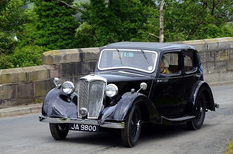 JA 9800 RILEY 9 MERLIN 1937