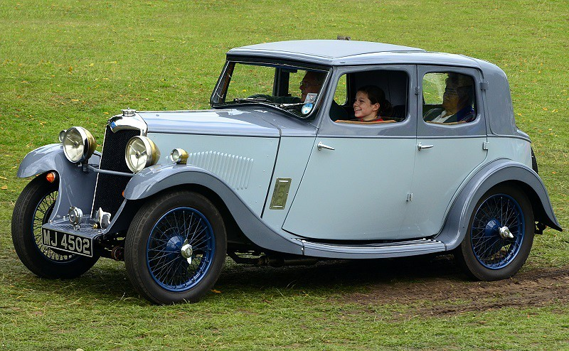 MJ 4502 RILEY 9 MONACO 1934