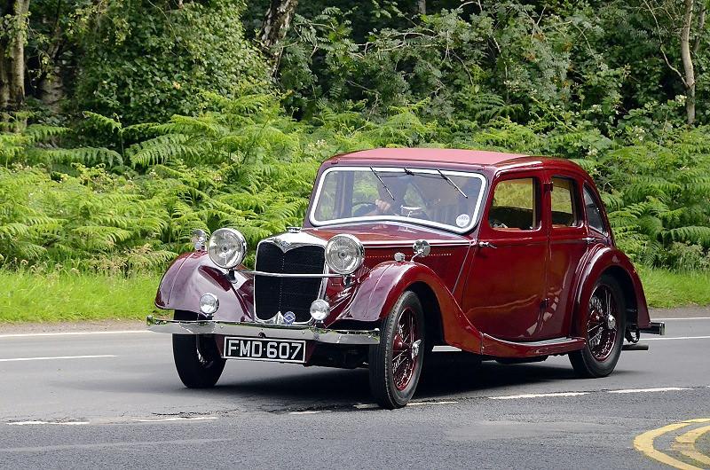 FMD 607 RILEY KESTREL 1937