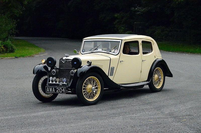 AWA204 RILEY KESTREL 1100 1934