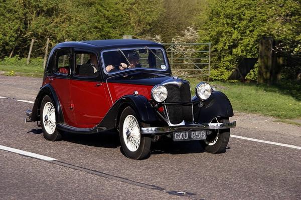 CXU 853 RILEY 9 1936
