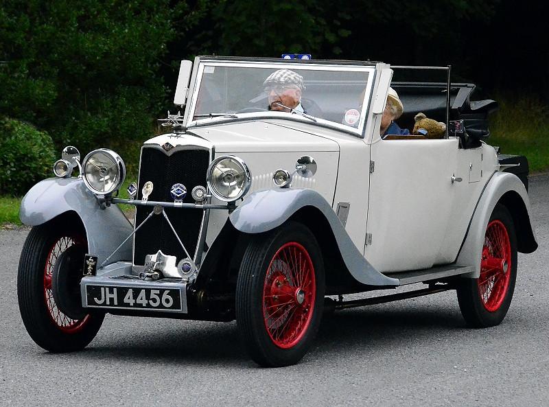 JH 4456 RILEY NINE TOURER 1933