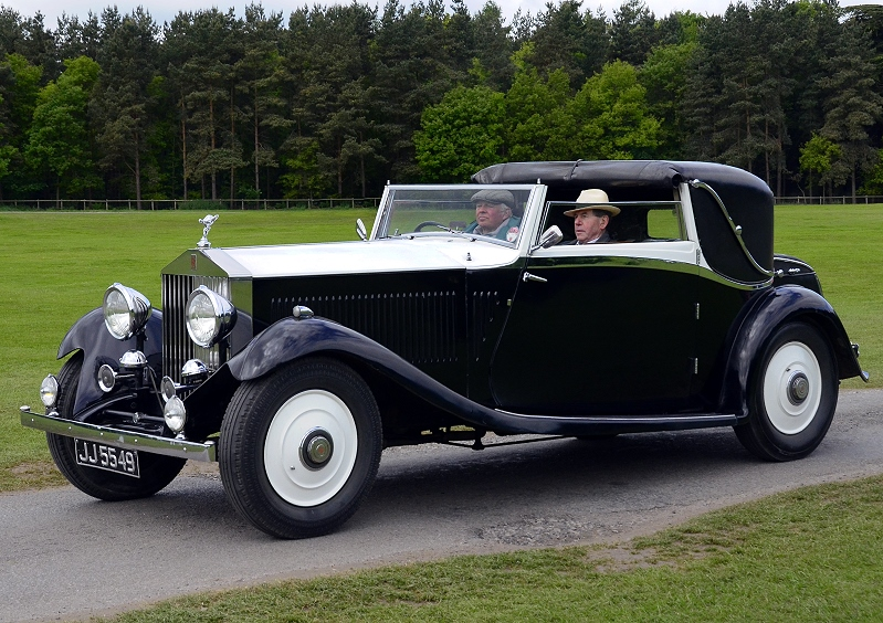 JJ 5549 RR PHANTOM II CLOSE COUPLE COUPE 1933