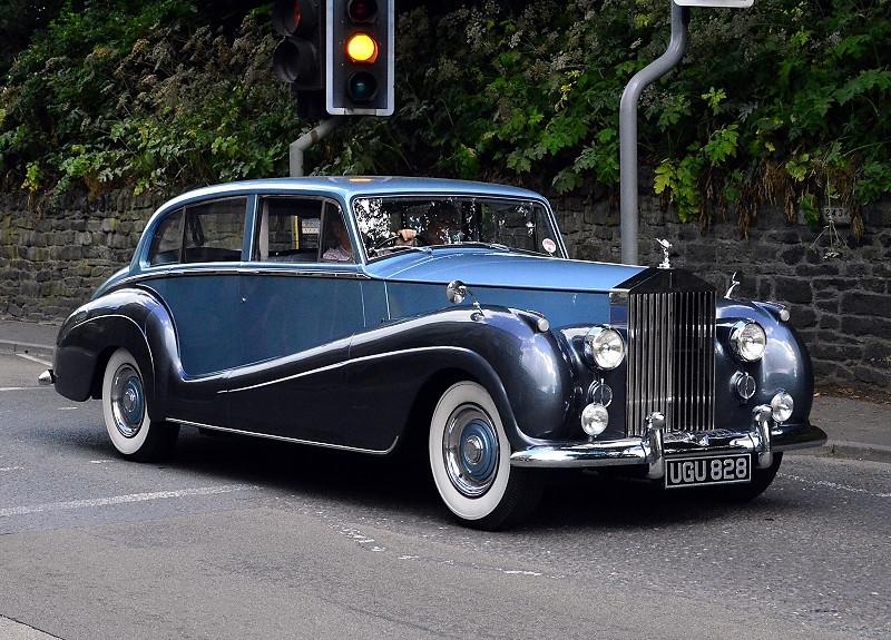 UGU 828 RR SILVER WRAITH 1956