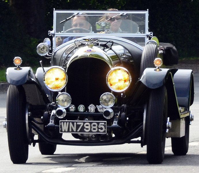 WN 7985 BENTLEY 3L 1934