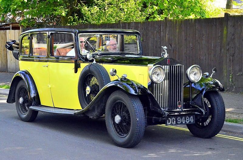 DG 9484 ROLLS ROYCE 20-25 1932