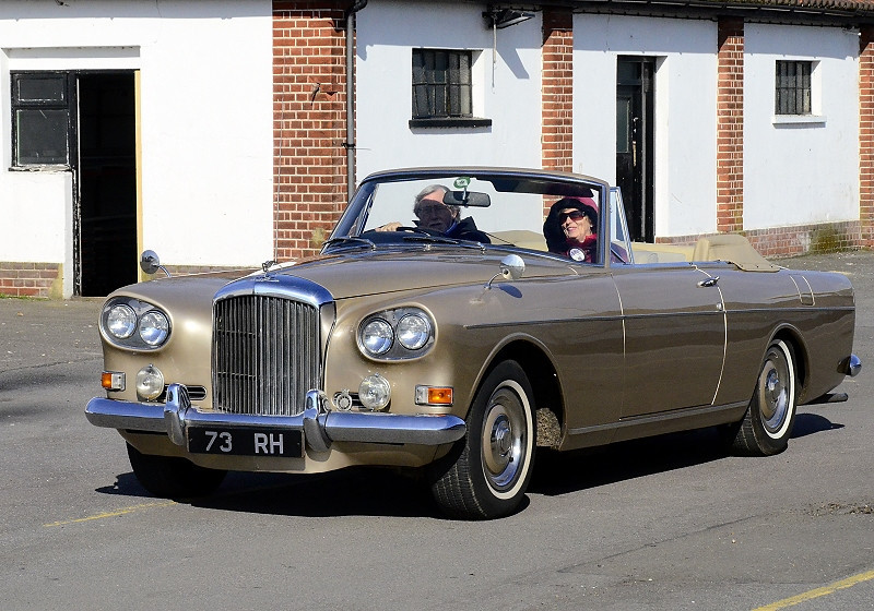 73 RH BENTLEY S3 DROPHEAD 1965