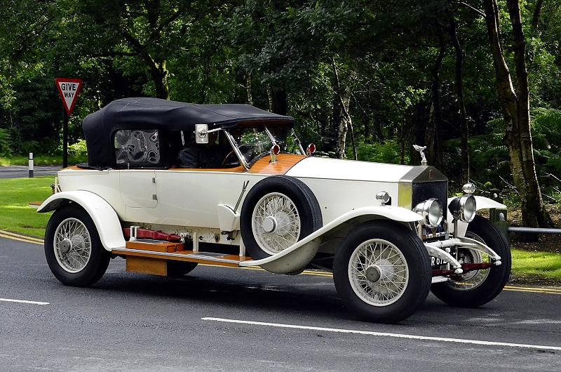XR 6727 ROLLS ROYCE BOAT TAIL  (2) 1924