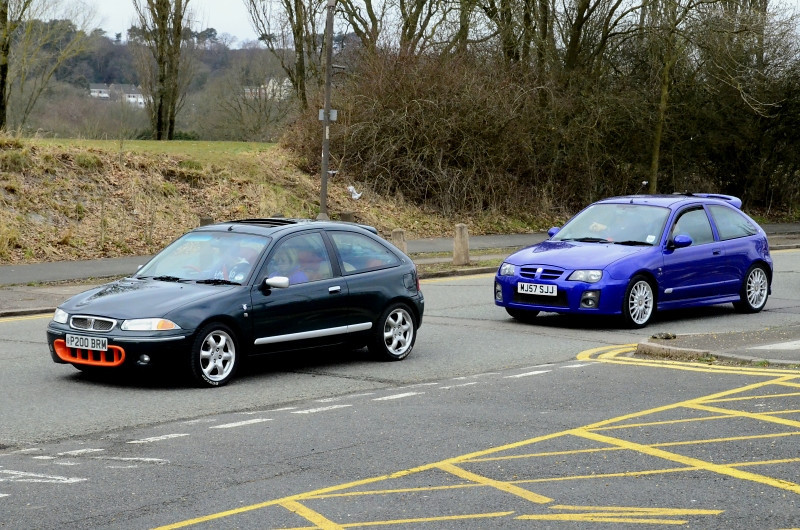 ROVER BRM & MG ZR