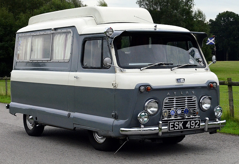 ESK 492 ATLAS CAMPER 1961