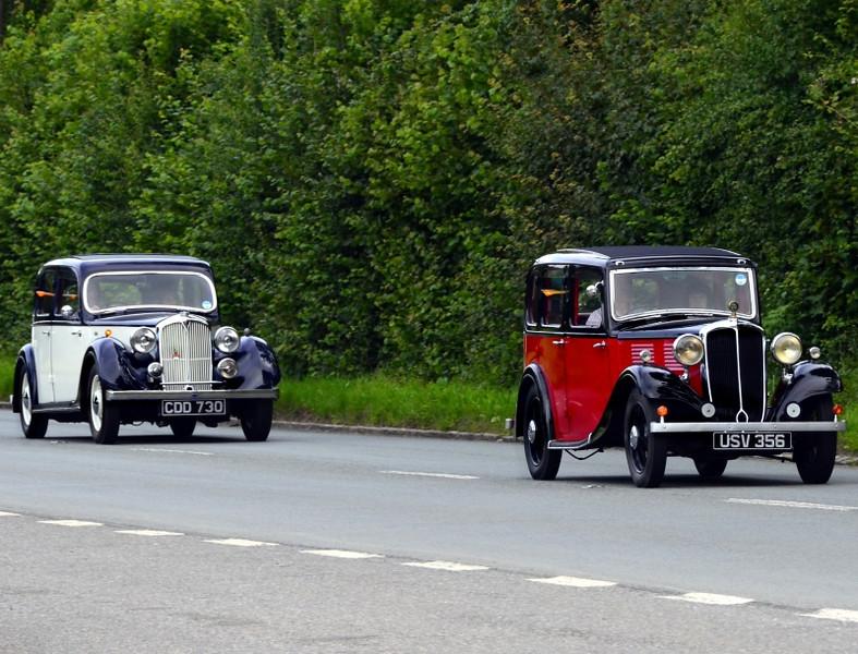 USV 356 STANDARD 10 & ROVER 12 1937