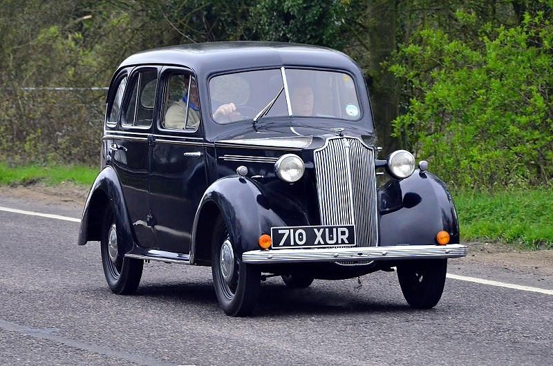 710 XUR VAUXHALL WYVERN 1938