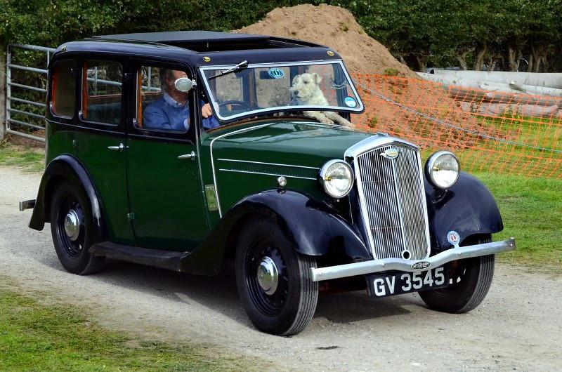 GV 3545 WOLSELEY HORNET 1935