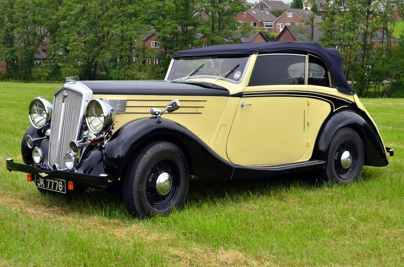 JK 7776 WOLSELY 25 1938