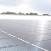 Oct. 22, 2010: Photo Voltaic array in place on the roof of the collections block.