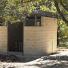 Oct. 29, 2010: Concrete block is complete at the pump house.