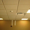 Oct. 29, 2010: Ceilings are being closed up now that above ceiling inspections are complete.