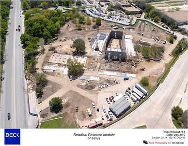 Aerial Photos of Construction Progress